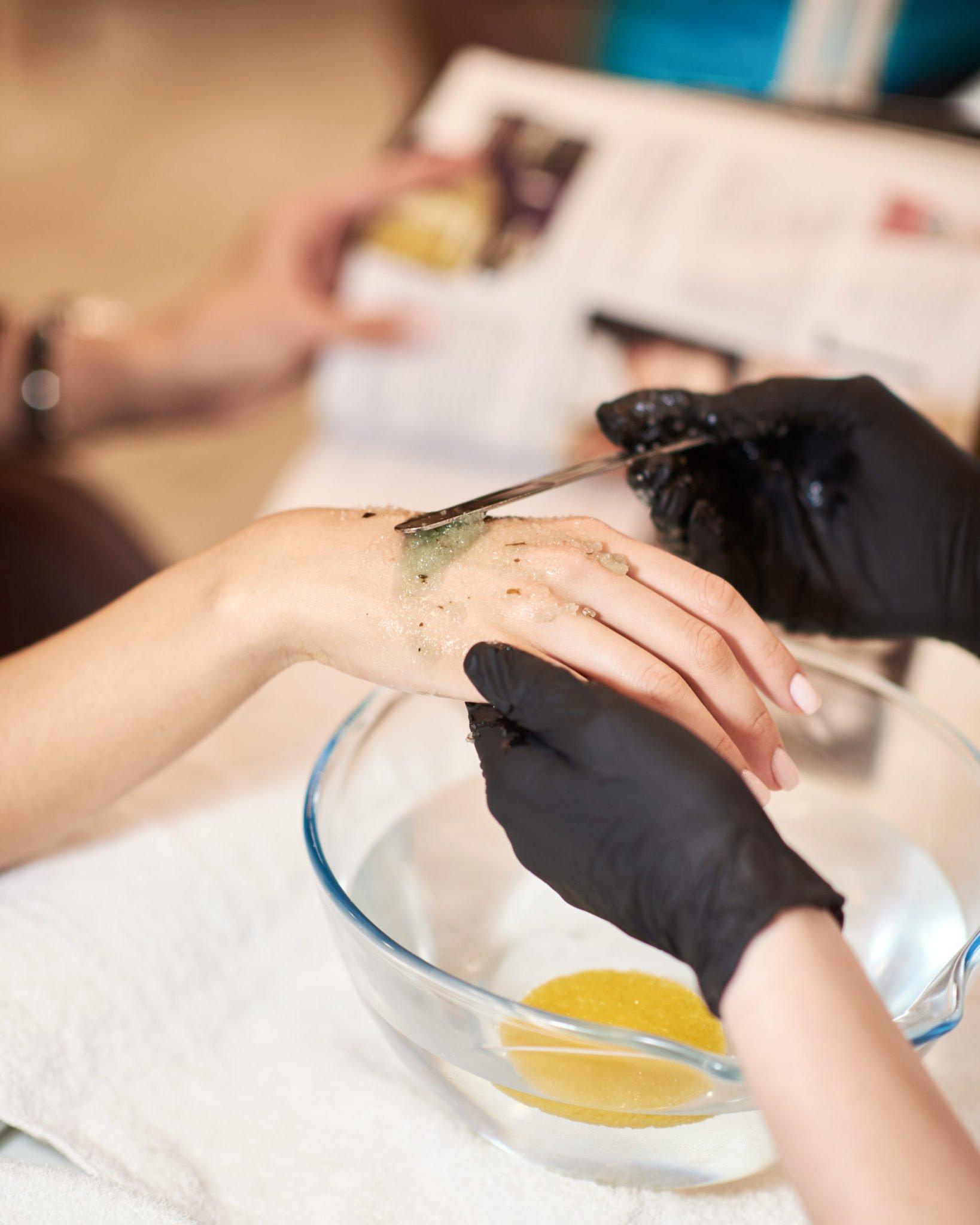 Уходовые процедуры рук